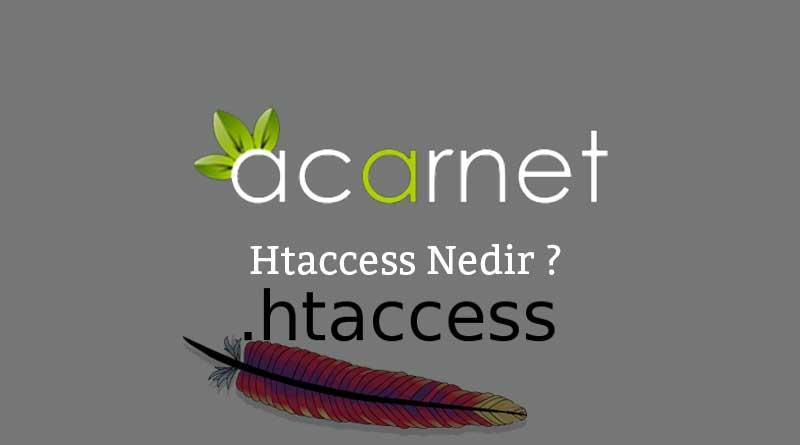 Htaccess-Nedir