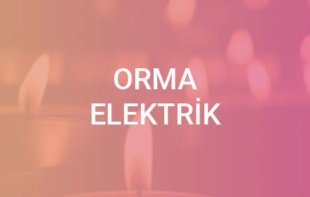 Orma Elektrik